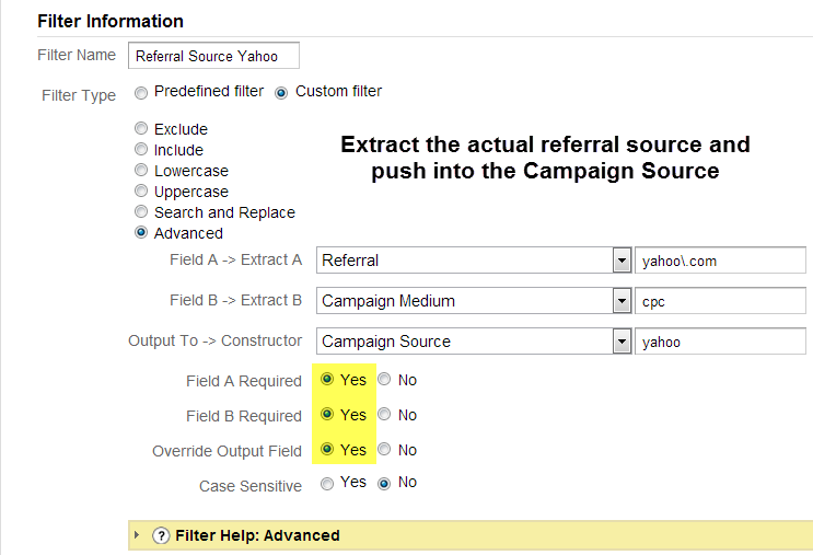 referral from yahoo