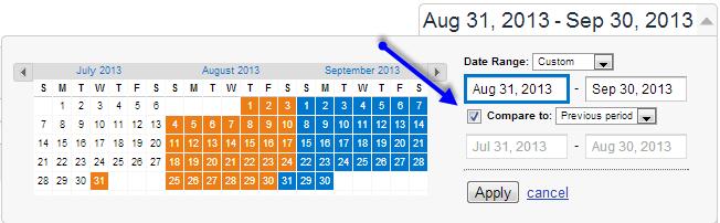 standard date compare
