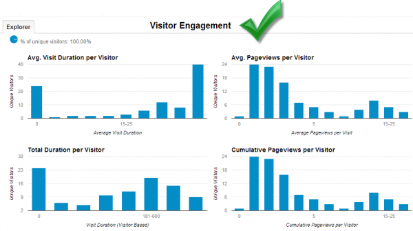 visitor engagement