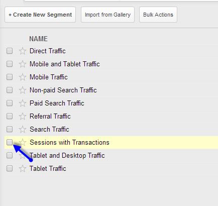transaction segment